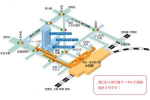 大宮ソニックシティ地図