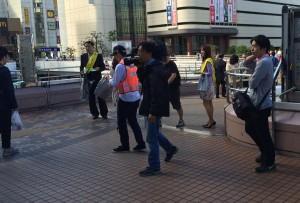盗難防止の日大宮駅2610072