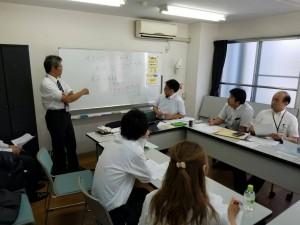 岩崎リーダーを中心にまとまってきました!